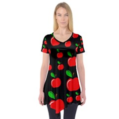 Red apples  Short Sleeve Tunic