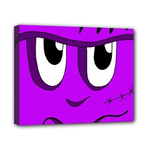 Halloween - purple Frankenstein Canvas 10  x 8
