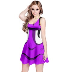 Halloween - purple Frankenstein Reversible Sleeveless Dress