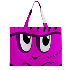 Halloween - pink Frankenstein Zipper Mini Tote Bag