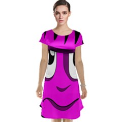 Halloween - pink Frankenstein Cap Sleeve Nightdress