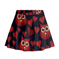 Owl You Need In Love Owls Mini Flare Skirt