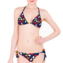 Honey Bees In Love Bikini Set