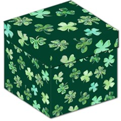 Lucky Shamrocks Storage Stool 12
