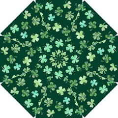Lucky Shamrocks Golf Umbrellas