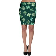 Lucky Shamrocks Bodycon Skirt