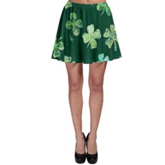 Lucky Shamrocks Skater Skirt