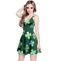 Lucky Shamrocks Reversible Sleeveless Dress