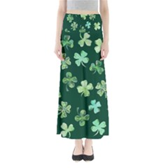 Lucky Shamrocks Maxi Skirts