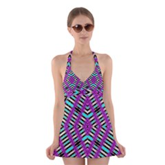 Lazur Lypeh Halter Swimsuit Dress