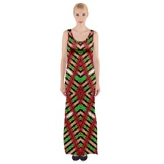 Color Me Up Maxi Thigh Split Dress