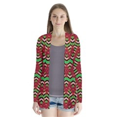 Color Me Up Drape Collar Cardigan