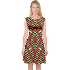 Color Me Up Capsleeve Midi Dress