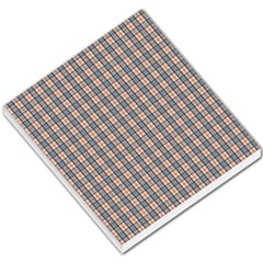 Chequered Plaid Small Memo Pads