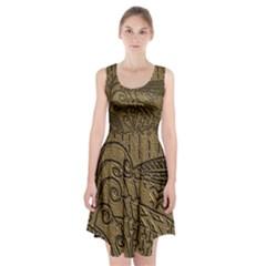 CVAr0046 Doodelidei Racerback Midi Dress
