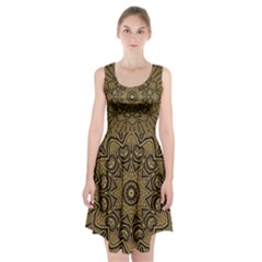 Doodelidei Hearts Of Gold Racerback Midi Dress