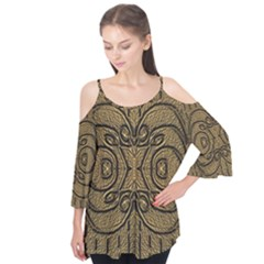 Doodelide Ornate Decorative Swirls Elegant Flutter Tees
