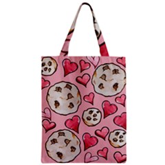 Chocolate Chip Cookies Zipper Classic Tote Bag
