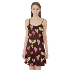 Honey Bee Love Bees Satin Night Slip