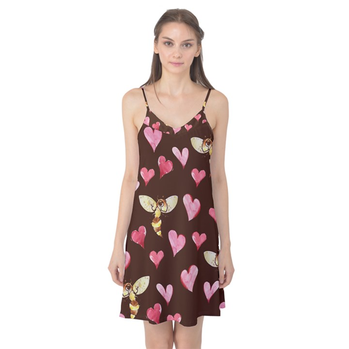 Honey Bee Love Bees Camis Nightgown