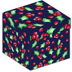 Holly Jolly Christmas Storage Stool 12
