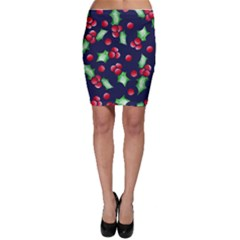 Holly Jolly Christmas Bodycon Skirt