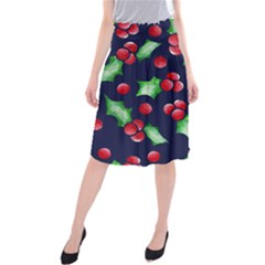 Holly Jolly Christmas Midi Beach Skirt
