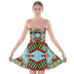 Ocean Love Strapless Dresses