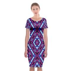 Hnjytyjj, Classic Short Sleeve Midi Dress