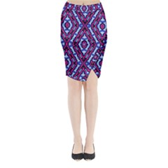 Hnjytyjj, Midi Wrap Pencil Skirt