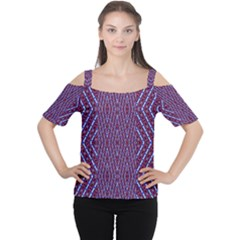 Mugmu,uymy Women s Cutout Shoulder Tee