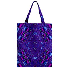 Power Pleight Zipper Classic Tote Bag