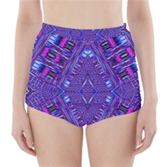 POWER PLEIGHT High-Waisted Bikini Bottoms
