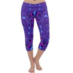 POWER PLEIGHT Capri Yoga Leggings