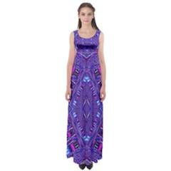 Power Pleight Empire Waist Maxi Dress