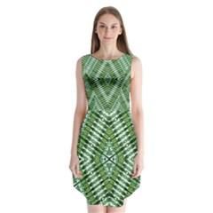 PROTECT TWO Sleeveless Chiffon Dress