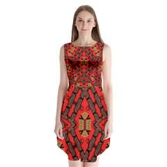 B U L L E T G U N Sleeveless Chiffon Dress