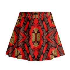 B U L L E T G U N Mini Flare Skirt