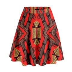 B U L L E T G U N High Waist Skirt