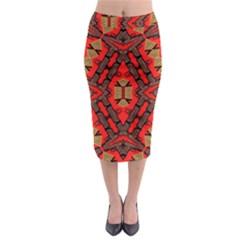 B U L L E T G U N Midi Pencil Skirt