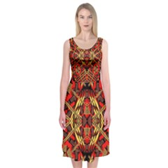Bull Eteese N Gun Midi Sleeveless Dress