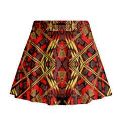 Bull Eteese N Gun Mini Flare Skirt