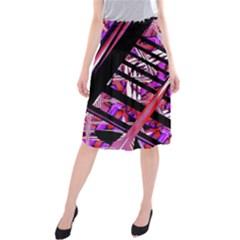 CUT OUT Midi Beach Skirt