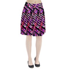 CUT OUT Pleated Skirt