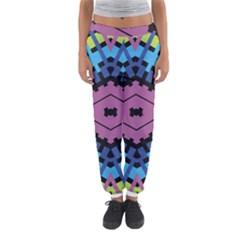 Starette Oleana Purple Blue Yellow Women s Jogger Sweatpants