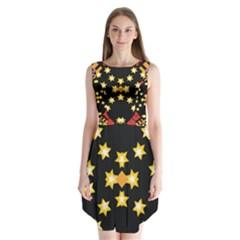 Starette Ronda Sleeveless Chiffon Dress