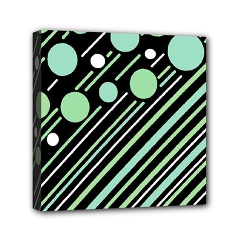 Green transformaton Mini Canvas 6  x 6