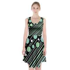 Green transformaton Racerback Midi Dress