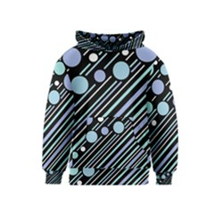 Blue transformation Kids  Pullover Hoodie
