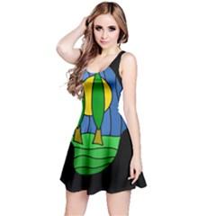 Landscape Reversible Sleeveless Dress